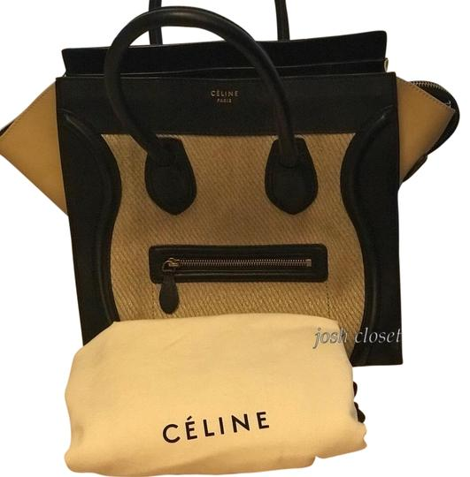 Preload https://item3.tradesy.com/images/celine-luggage-micro-khaki-color-leather-satchel-23335692-0-1.jpg?width=440&height=440