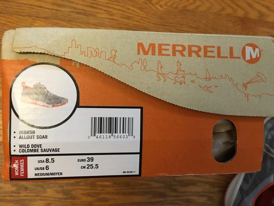 Merrell Lightweight Supportive Fabulous Comfortable Travel Champs wild dove Athletic