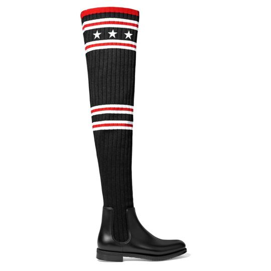 Preload https://item1.tradesy.com/images/givenchy-storm-ribbed-knit-over-knee-sock-rubber-bootsbooties-size-us-7-regular-m-b-23335775-0-0.jpg?width=440&height=440