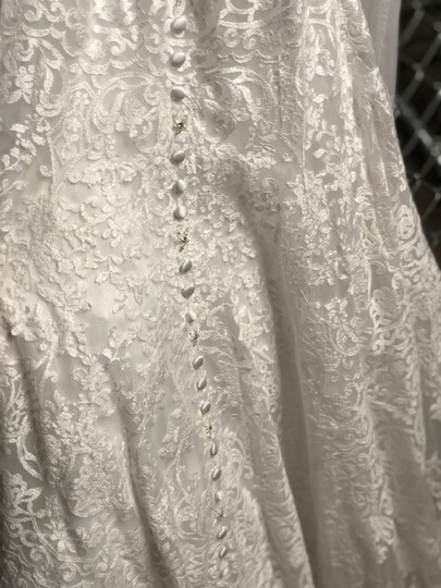 Allure Bridals White 2700 Traditional Wedding Dress Size 2 (XS)