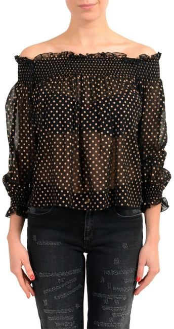 Preload https://item3.tradesy.com/images/just-cavalli-black-v-11107-blouse-size-4-s-23335827-0-1.jpg?width=400&height=650