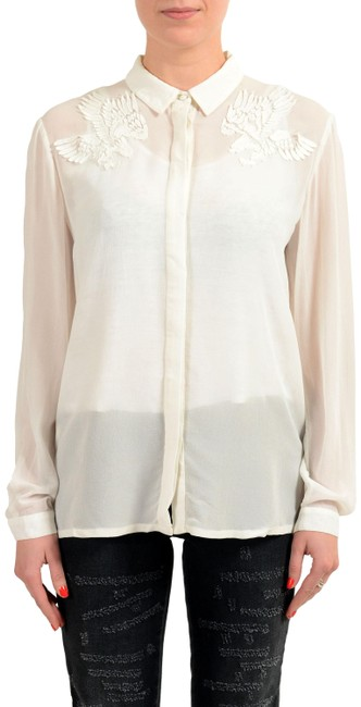Preload https://item2.tradesy.com/images/just-cavalli-off-white-v-11109-blouse-size-4-s-23335841-0-1.jpg?width=400&height=650