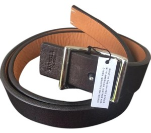 Shinola Shinola Bolt Reversible Leather Belt Brown Size 45 Brand new