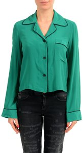 Just Cavalli Button Down Shirt Green