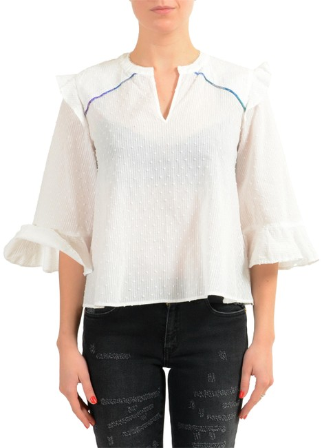 Preload https://item1.tradesy.com/images/just-cavalli-white-v-11115-blouse-size-4-s-23335860-0-1.jpg?width=400&height=650