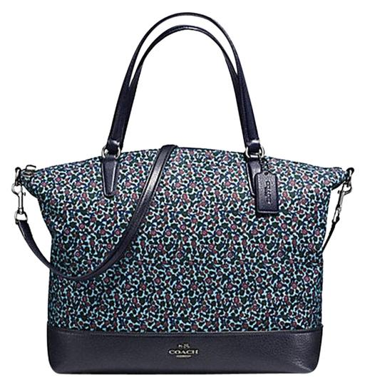 Preload https://item1.tradesy.com/images/coach-satchel-ranch-floral-f59433-blue-multi-nylon-tote-23335985-0-1.jpg?width=440&height=440