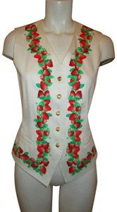 Escada Vintage Cotton Cotton Vest