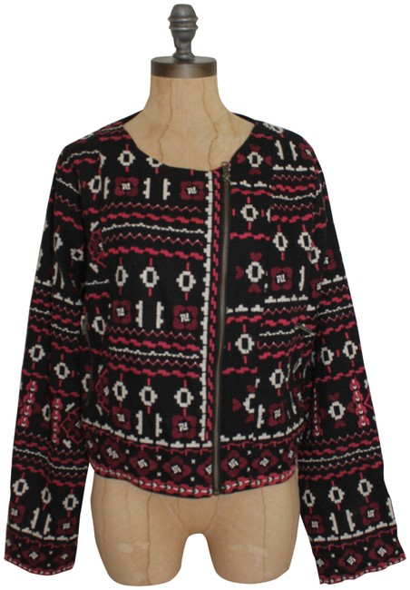 Preload https://item3.tradesy.com/images/tolani-black-multi-feathers-by-embroidered-mandy-moto-motorcycle-jacket-size-12-l-23336077-0-2.jpg?width=400&height=650