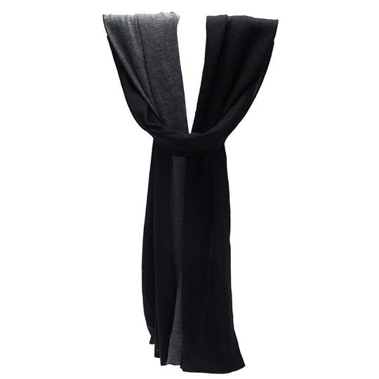Preload https://item1.tradesy.com/images/hermes-black-and-grey-cashmere-and-silk-stole-scarfwrap-23336125-0-0.jpg?width=440&height=440