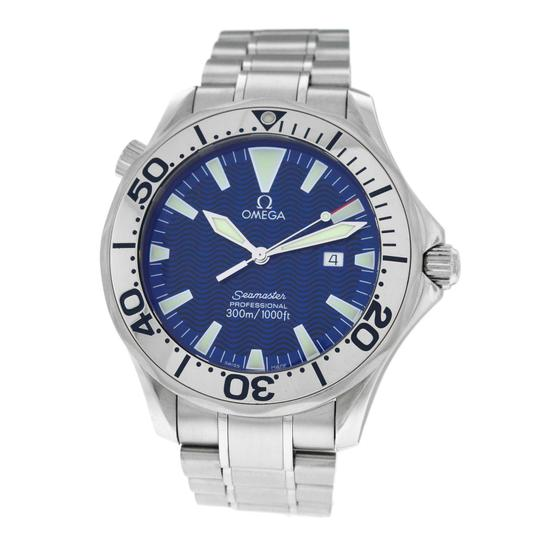 Preload https://item4.tradesy.com/images/omega-silver-mens-seamaster-226580-stainless-steel-41mm-date-watch-23336133-0-0.jpg?width=440&height=440