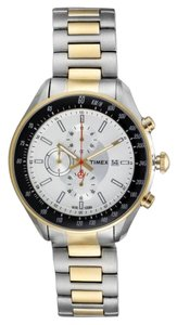 Timex Timex Male T Series Watch T2N155 Two-Tone Analog