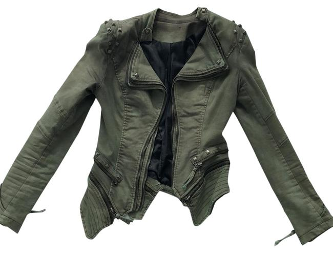 Preload https://item3.tradesy.com/images/green-motorcycle-jacket-size-4-s-23336172-0-2.jpg?width=400&height=650