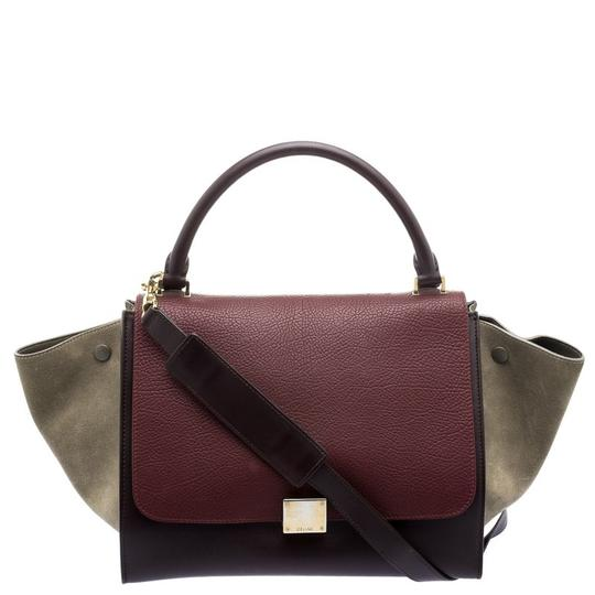 Preload https://item2.tradesy.com/images/celine-trapeze-tri-color-and-medium-multicolor-suede-leather-tote-23336181-0-0.jpg?width=440&height=440