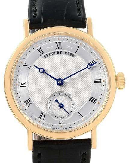 Preload https://item4.tradesy.com/images/breguet-silvered-gold-classique-18k-yellow-mechanical-mens-5907-watch-23336183-0-1.jpg?width=440&height=440