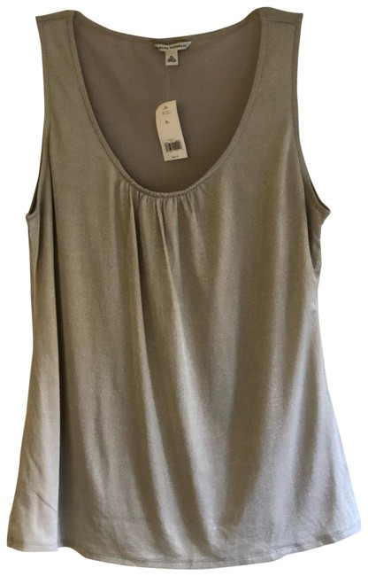 Preload https://img-static.tradesy.com/item/23336192/banana-republic-silver-metallic-tank-topcami-size-16-xl-plus-0x-0-2-650-650.jpg