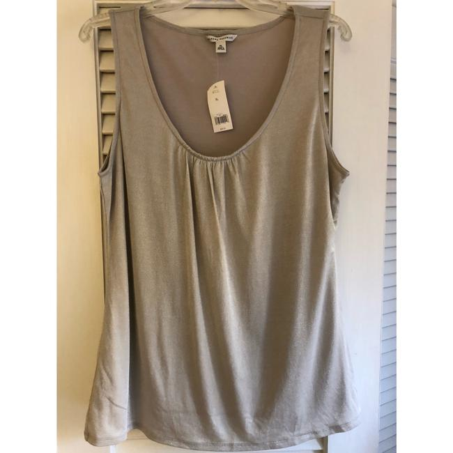 Banana Republic Top silver metallic Image 1