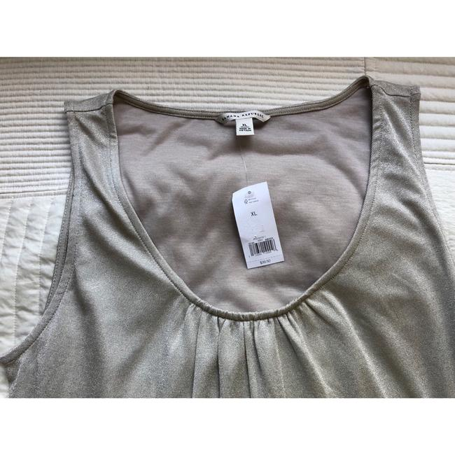 Banana Republic Top silver metallic Image 4