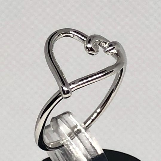 Sterling Silver Heart Knot Ring CIL