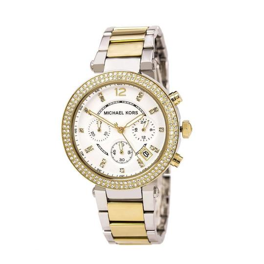 Preload https://item5.tradesy.com/images/michael-kors-goldsilver-tone-mk5626-parker-glitz-dial-two-tone-ladies-watch-23336199-0-2.jpg?width=440&height=440