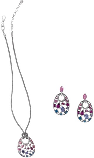 Preload https://item4.tradesy.com/images/brighton-silver-multi-colored-one-love-earrings-necklace-23336213-0-2.jpg?width=440&height=440