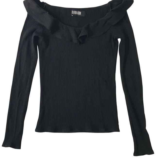 Preload https://item3.tradesy.com/images/reformation-black-2453-night-out-top-size-2-xs-23336232-0-2.jpg?width=400&height=650