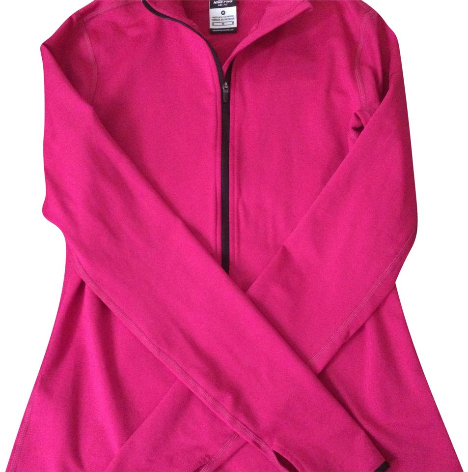 3772a7850af3 Nike Hot Pink Pro Dri-fit Performance Training Jacket Activewear Top ...