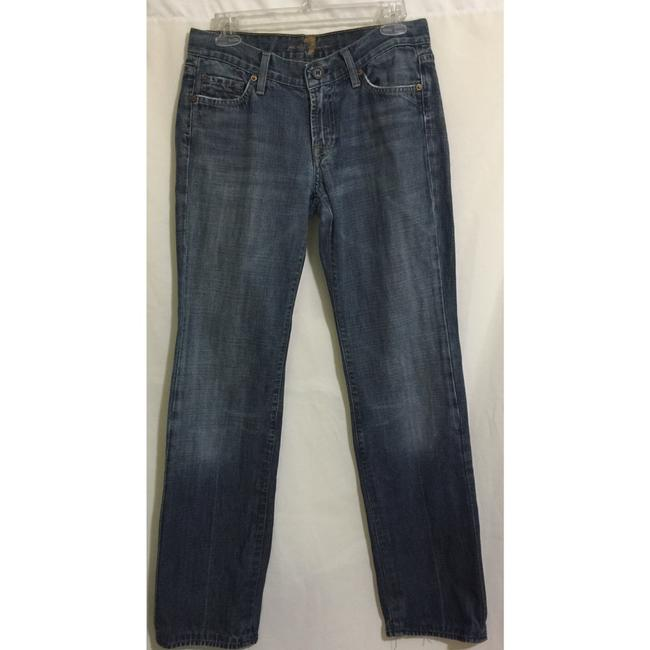 7 For All Mankind Flare Leg Jeans-Medium Wash Image 1
