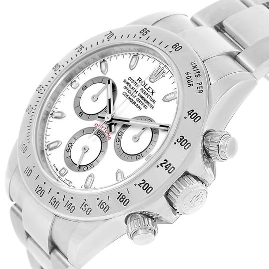 Rolex Rolex Cosmograph Daytona White Dial Chrono Steel Mens Watch 116520