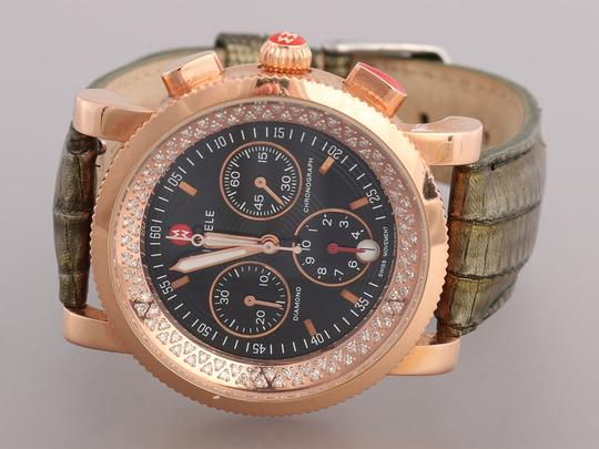 Michele ROSE GOLD DIAMOND SPORT SAIL WATCH 38MM