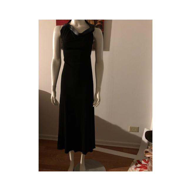 Preload https://item4.tradesy.com/images/calvin-klein-black-evening-with-leather-neck-strap-long-cocktail-dress-size-4-s-23336318-0-0.jpg?width=400&height=650