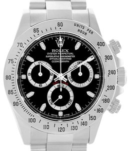 Rolex Rolex Cosmograph Daytona Chronograph Stainless Steel Mens Watch 116520