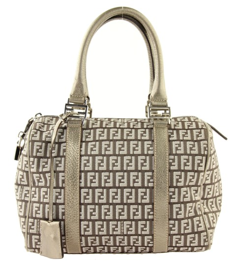 Preload https://item3.tradesy.com/images/fendi-small-forever-bauletto-zucchino-brown-canvas-satchel-23336337-0-1.jpg?width=440&height=440
