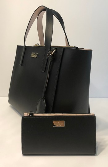 Kate Spade New York Stacy Wallet Set Putnam Drive Small Nelle Handbag Wallet Braylon Black/Dolce Satchel in Black/Dolce