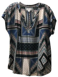Velvet by Graham & Spencer Top multi print