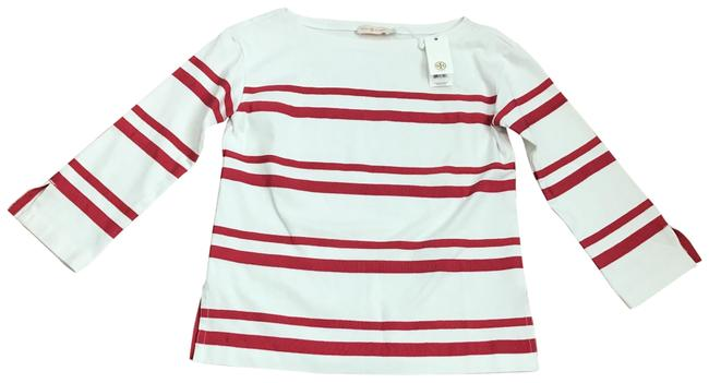 Preload https://item3.tradesy.com/images/tory-burch-whitered-blouse-size-2-xs-23336402-0-2.jpg?width=400&height=650