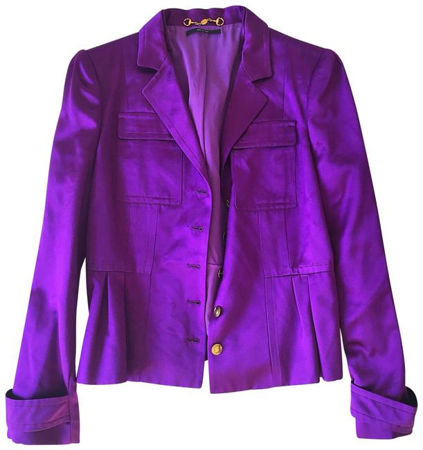 Item - Purple Jacket Blazer Size 10 (M)