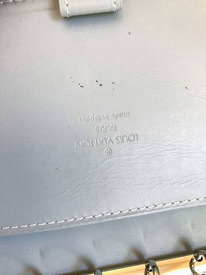 Louis Vuitton Gold Epi Leather Agenda Pad Day Planner Image 10