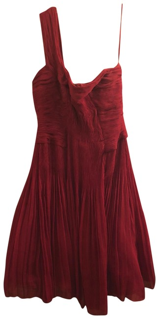 Preload https://item4.tradesy.com/images/elie-tahari-red-one-shoulder-mid-length-cocktail-dress-size-6-s-23336458-0-2.jpg?width=400&height=650