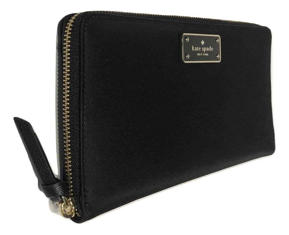 2878f19e5c79 Kate Spade Black New York Wilson Road Kaden Large Wlru4924 Wallet