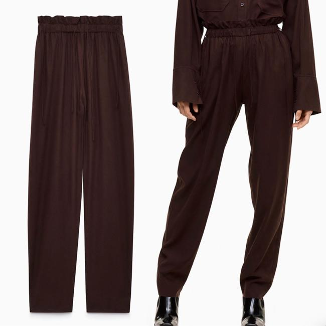 Aritzia Relaxed Pants brown