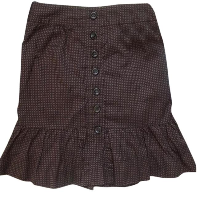 Preload https://item5.tradesy.com/images/anthropologie-brown-with-orange-dots-odille-skirt-size-2-xs-26-23336519-0-2.jpg?width=400&height=650