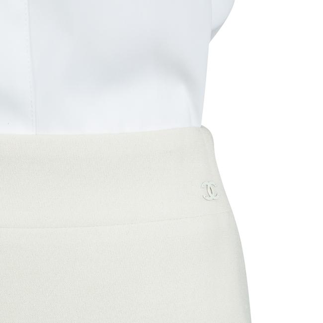 Chanel Cream Wool Skirt Suit S