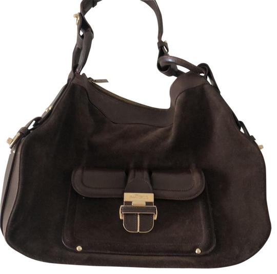 Preload https://img-static.tradesy.com/item/23336550/jimmy-choo-suedeleather-brown-suede-hobo-bag-0-2-540-540.jpg