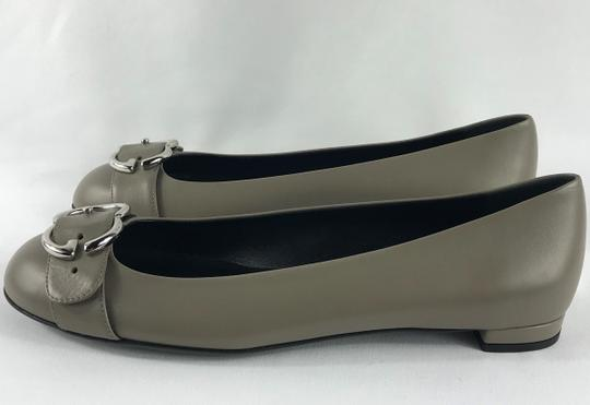 Gucci new fango, silver buckle Flats