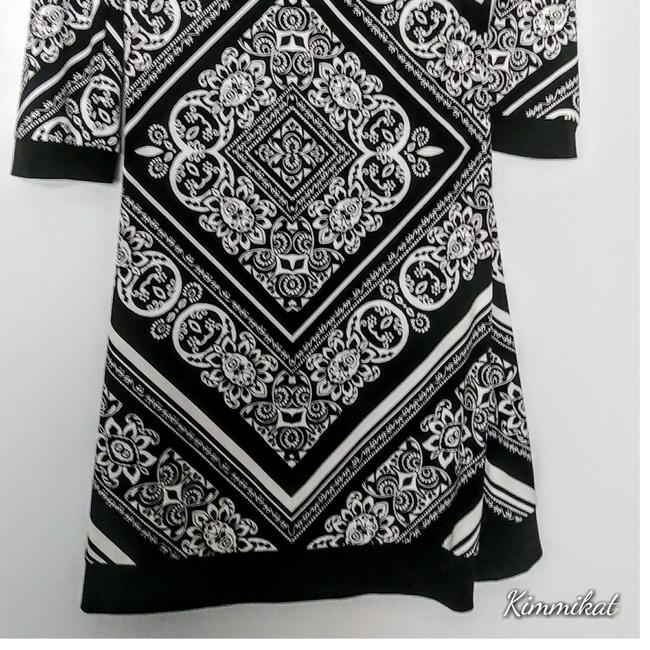 White House | Black Market short dress Black and white on Tradesy