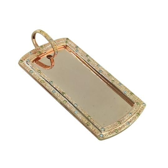 Preload https://item1.tradesy.com/images/rose-men-14k-solid-heavy-238-grams-gold-34-ct-diamond-army-dog-tag-charm-23336675-0-0.jpg?width=440&height=440