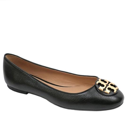 Preload https://item4.tradesy.com/images/tory-burch-black-claire-ballet-tumbled-leather-flats-size-us-85-regular-m-b-23336688-0-0.jpg?width=440&height=440