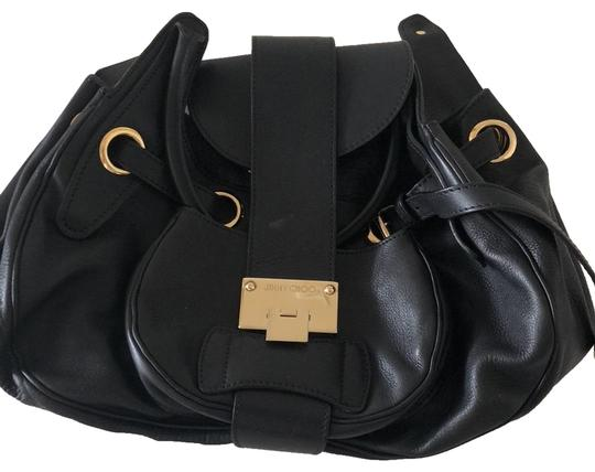 Preload https://item1.tradesy.com/images/jimmy-choo-with-gold-hardware-black-leather-hobo-bag-23336705-0-2.jpg?width=440&height=440