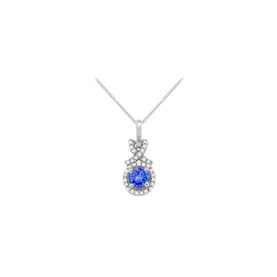 Preload https://img-static.tradesy.com/item/23336741/blue-silver-december-birthstone-created-tanzanite-with-cz-halo-pendant-in-sterling-necklace-0-0-540-540.jpg