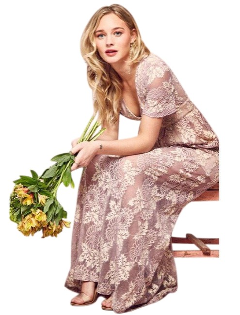 Preload https://item3.tradesy.com/images/promesa-lavender-lace-maxi-semi-sheer-and-cream-long-formal-dress-size-8-m-23336752-0-1.jpg?width=400&height=650